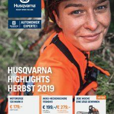 Husqvarna Herbsthighlights